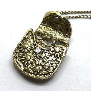 Jewelry - Funky Handbag Locket Necklace